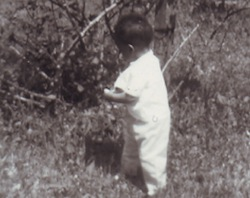 derrick as child in turkey creek